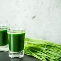Le jus d'herbe de blé : my kind of shot!