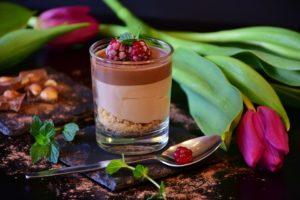 Mousse au chocolat sans blancs d'oeufs